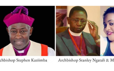 UGANDAN ANGLICAN ARCHBISHOP UNDER FIRE FOR EXPOSING FORMER ARCHBISHOP'S ADULTERY